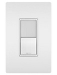 Legrand NTL873WCC6 | Radiant Collection | Radiant Single-Pole/3-Way Switch with Night Light, White