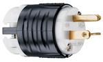 Legrand PS5466-X | Pass and Seymour | STR BLD PLUG 3W 20A 250V B&W PS5466X, Black