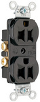 Legrand CRB5262-BK | Pass and Seymour | Construction Spec Grade Receptacles, Back & Side Wire, 15A, 125V, Black
