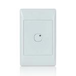 Leviton 113A00-1 | Omni-Bus 1-Button, Hardwired, White