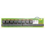 Leviton 17D23-R | 17 Series Female Complete Plug, Detchable, Double Set Screw, RED