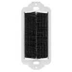 Leviton 41075-DBE | Decora Brush Passthrough Insert, Black