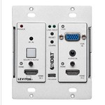 Leviton 41920-HRC | Autoswitching HDBaseT Extender Wallplate