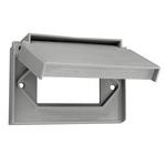 Leviton 49910-SW4 | QuickPort Modular Furniture Faceplate, 4-Port, White