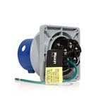 Leviton 560B9WLEV | LEV Series IEC Pin & Sleeve Inlet