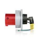 Leviton 460B7WLEV | LEV Series IEC Pin & Sleeve Inlet