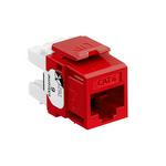 Leviton 61110-RC6 | eXtreme Cat 6 QuickPort Jack, Crimson