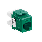 Leviton 61110-RV6 | eXtreme Cat 6 QuickPort Jack, Green