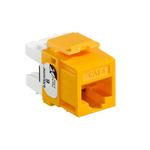 Leviton 61110-RY6 | eXtreme Cat 6 QuickPort Jack, Yellow