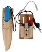 Leviton 49562-TSK   Tone Test Set and Inductive Speaker Probe each with belt holster