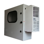 Mier Products BW-1248ACHTW | Air-Conditioned & Heated (ACHT) Models - ASA 70 Gray, Outdoor NEMA 4 Enclosure | UPC - 612212074146