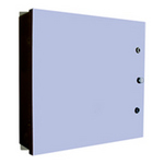 Mier Products BW-1248BP | Outdoor NEMA 3R, 4 Electrical Enclosures and Heated Enclosures - Gray, Gasketing to protect against weather and dust | UPC - 612212074047