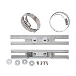 Mier Products BW-1614PM12 | 12 inch Pole Mount Kit | UPC - 612212082059