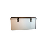 Mier Products BW-SL12104C | UL Listed NEMA Rated Outdoor 12 inch (H) x 10 inch (W) x 4 inch (D) Polycarbonate Electrical Enclosure - Gray - Clear Door | UPC - 612212080239
