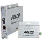 Pelco FMCI-AF1MM1STM | FMCI Series Ethernet Optical Fiber Media Converters