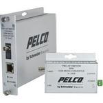 Pelco FMCI-AF1SM1STM | FMCI Series Ethernet Optical Fiber Media Converters
