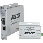 Pelco FMCI-BF1MM1STM | FMCI Series Ethernet Optical Fiber Media Converters
