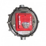 Safety Technology Intl (S.T.I.) STI-1229HTR | Stopper Dome Heated for Strobe Only NEMA 4X - 110 VAC - Clear