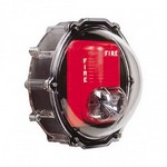Safety Technology Intl (S.T.I.) STI-1229 | Stopper Dome for Strobe with Enclosed Back Box - NEMA 4X - Clear