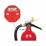 Safety Technology Intl (S.T.I.) STI-6200 | Fire Extinguisher Theft Stopper