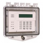 Safety Technology Intl (S.T.I.) STI-7510F | Polycarbonate Enclosure with Enclosed Back Box and Exterior Key Lock - Clear