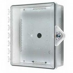 Safety Technology Intl (S.T.I.) STI-7521-HTR | Heated Type 4X Polycarbonate Enclosure - Thumb Lock - Clear