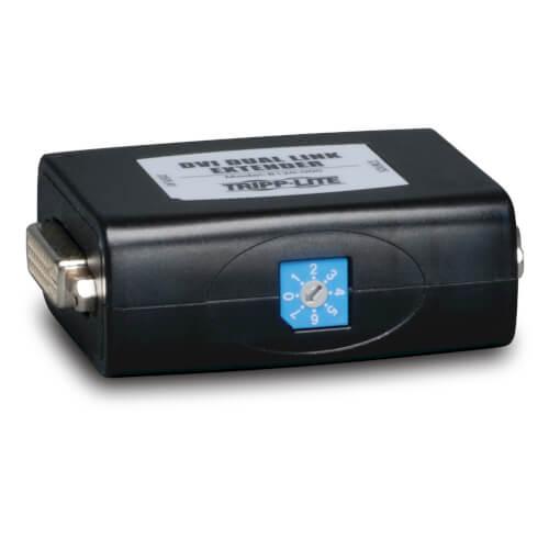 Tripp-Lite B120-000   DVI Signal Booster / Extender, Dual-Link, 2560x1600 60Hz, up to 150 ft. (45 m), (DVI F/F), TAA