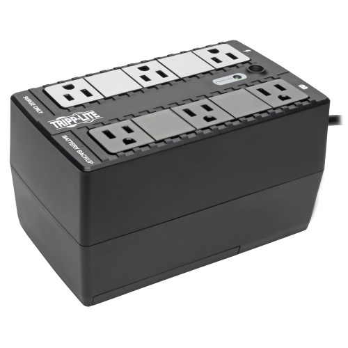 Tripp-Lite BC350 | 120V 350VA 210W Standby UPS - 6 NEMA 5-15R Outlets, 50/60 Hz, 5-15P Plug, Desktop/Wall Mount