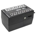 Tripp-Lite ECO650UPSM   650VA 325W Standby UPS - 10 NEMA 5-15R Outlets, 120V, 50/60 Hz, 5-15P Plug, ENERGY STAR, Desktop/Wall