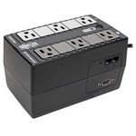 Tripp-Lite INTERNET350SER | 350VA 210W Standby UPS - 6 NEMA 5-15R Outlets, 120V, 50/60 Hz, DB9, 5-15P Plug, Desktop/Wall Mount