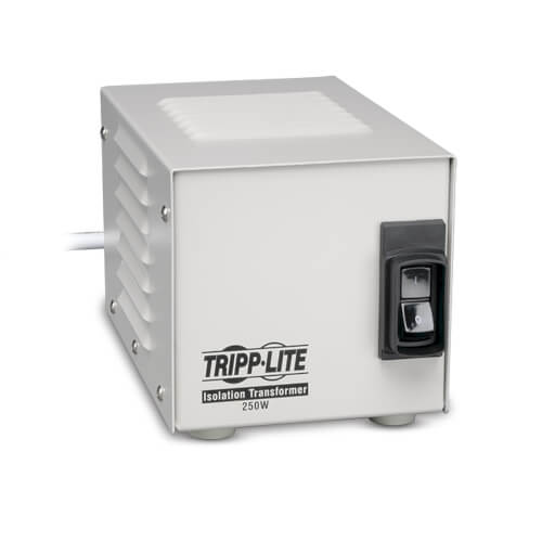 Tripp-Lite IS250HG | Isolator Series 120V 250W UL 60601-1 Medical-Grade Isolation Transformer with 2 Hospital-Grade Outlets