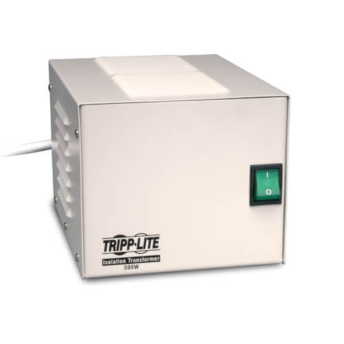 Tripp-Lite IS500HG | Isolator Series 120V 500W UL 60601-1 Medical-Grade Isolation Transformer with 4 Hospital-Grade Outlets