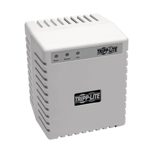 Tripp-Lite LR604   600W 230V Power Conditioner with Automatic Voltage Regulation (AVR), AC Surge Protection, 3 Outlets, UNIPLUGINT Adapter
