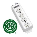 Tripp-Lite PS-415-HG | Safe-IT Medical-Grade Power Strip, UL 1363, 4 Hospital-Grade Outlets, Antimicrobial, 15 ft. (4.57 m) Cord