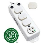Tripp-Lite PS-415-HG-OEM   Safe-IT UL 1363A Medical-Grade Power Strip for Patient-Care Vicinity, 4x 15A Hospital-Grade Outlets, 15 ft. Cord