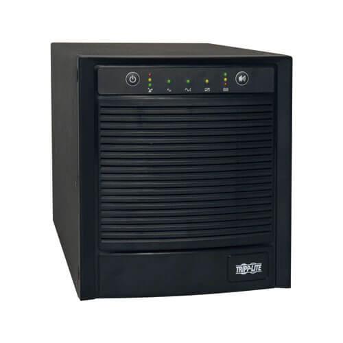 Tripp-Lite SMART2200SLT | SmartPro 120V 2.2kVA 1.6kW Line-Interactive Sine Wave UPS, Tower, Network Card Options, USB, DB9