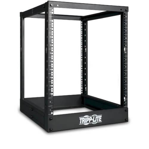 Tripp-Lite SR4POST13 | 13U SmartRack 4-Post Open Frame Rack - Organize and Secure Network Rack Equipment