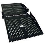 Tripp-Lite SRSHELF2PX2   SmartRack 2U Cantilever Double-sided Fixed Shelf (60 lbs / 27.2 kgs capacity each side; 36 in./914 mm depth)