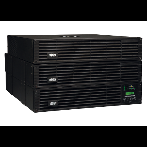 Tripp-Lite SU6000RT4UTF | SmartOnline 208/240 & 120V 6kVA 5.4kW Double-Conversion UPS, 6U Rack/Tower, Extended Run, Network Card Options, USB, DB9 Serial, Bypass Switch, Outlets