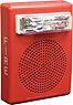 Wheelock E50-24MCW-FR   Red Wall Mount E50 Speaker Strobe, 15/30/75/110