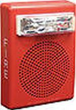 Wheelock E50-24MCW-FR | Red Wall Mount E50 Speaker Strobe, 15/30/75/110