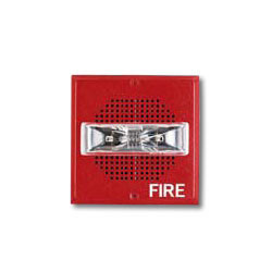 Wheelock E70-24MCW-FR   Red Wall-Mount E70 Series Speaker Strobe 15/30/75/110