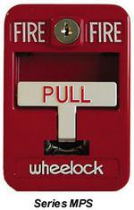 Wheelock MPS-100   Fire Alarm Pull Station