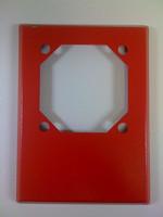 Wheelock RP-R | Red Retrofit Plate