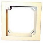 Wheelock SER-R | Red Square Semi-flush Extension Ring