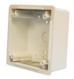 Wheelock WBB-W | White Waterproof Back Box for Mounting Horn Strobes