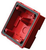 Wheelock WPBB-R | Red Backbox for Mounting ASWP Horn Strobes