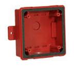 Wheelock WPSBB-R | Red Backbox for RSSWP Series