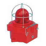 Wheelock XB4ULB8D2E3E06ANRN1R | Explosion Proof Strobe with Red Lens 21 Joules, 24 VDC