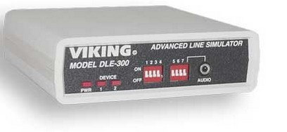 Viking Electronics DLE-300 Advance Phone Line Simulator W/Dial Tn Standard /DIST